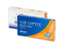 Air Optix Night & Day Aqua (6 Linsen)
