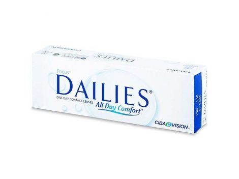 Focus Dailies All Day Comfort (30 Linsen)
